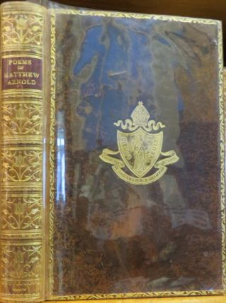The Poems of Matthew Arnold 1840-1867. With an Introduction By Sir Arthur Quiller-Couch. Matthew...