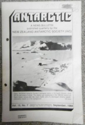 Antarctic. A News Bulletin. 10 Copies