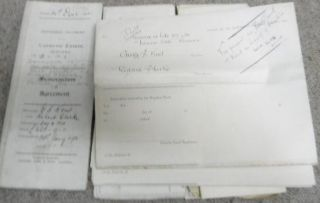 Documents relating to GS Kent and Richard Starke
