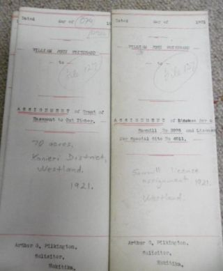 Documents relating to William John Pritchard