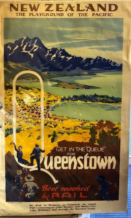 Get in the Queue for Queenstown - original Poster