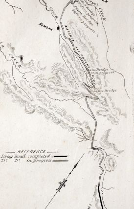 County of Westland N.Z. Road, Marsden to Hohonu. Line Map
