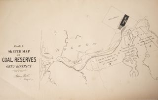 Plan I. Sketch Map of Coal Reserves, Grey District