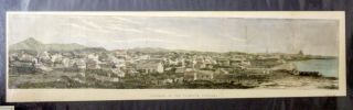 Panorama of New Plymouth - Engraving