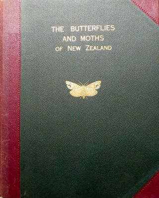 The Butterflies and Moths of New Zealand Together with Supplement