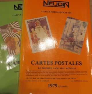 Postcard Yearbooks 1977 and 1979. J. NEUDIN
