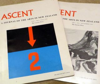 ASCENT; a Journal of the Arts in New Zealand. Vol 1 No. 1 & No. 2