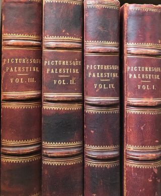 Picturesque Palestine Sinai and Egypt (4 vols). Colonel WILSON