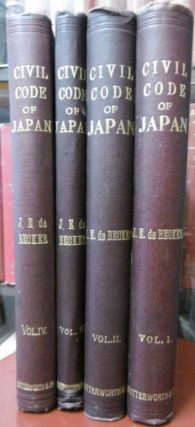 Annotated Civil Code of Japan