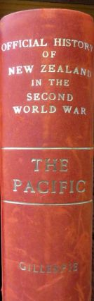 The Pacific. Oliver A. GILLESPIE