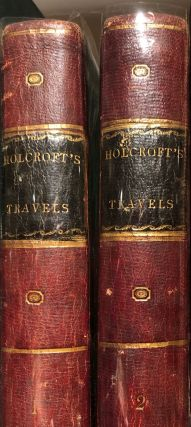Travels from Hamburg through West Phalia, Holland, and the Netherlands to Paris. 2 Vols. Thomas...