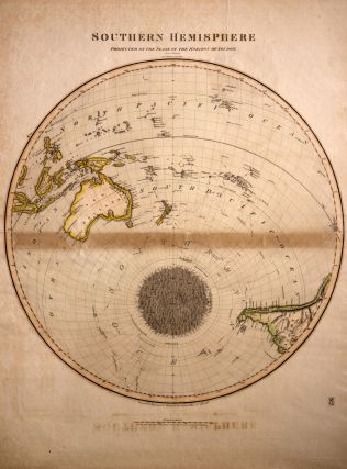 Southern Hemisphere Projected on the Plane of the Horizon of London. Projected & Engraved for...