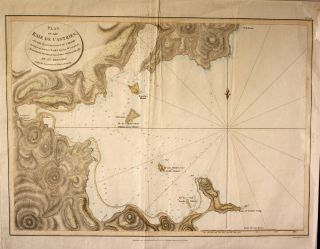 Plan of the Baie de Castries, on the Eastern Coast of Tartary...by Sen. Bernizet, under the...