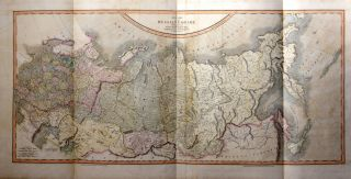 A New Map of the Russian Empire Divided Into its Governments; from the Latest Authorities, By J...