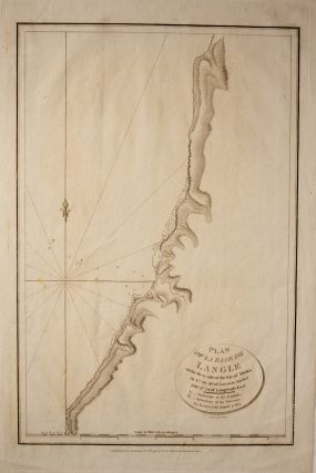 Plan of la Baie de Langle on the West side of the Isle of Tchoka Map. Jean-Francois De Galaup LA...
