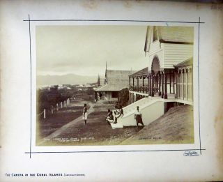 Government House - Suva - Fiji. Photograph