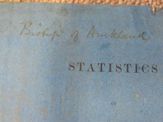 Statistics of New Zealand for 1870. Compiled from Official Records.