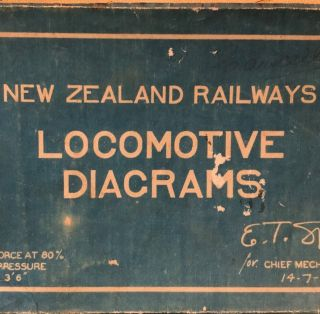 New Zealand Locomotive Diagrams
