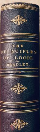 The Principles of Logic. BRADLEY. F. H