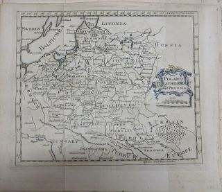 Poland, Lithuania and Prussia Map