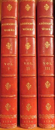 Miscellaneous Works, In Verse and Prose. Joseph ADDISON