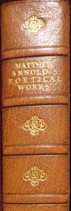 Poetical works of Matthew Arnold. Matthew ARNOLD