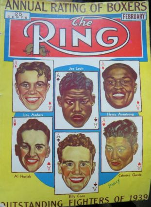 THE RING : World's Foremost Boxing Magazine, February 1940 - December 1940. Magazine