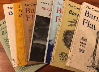The Centennial History of Barnego Flat - Volumes 2 - 9. ANON, R. S. GORMACK