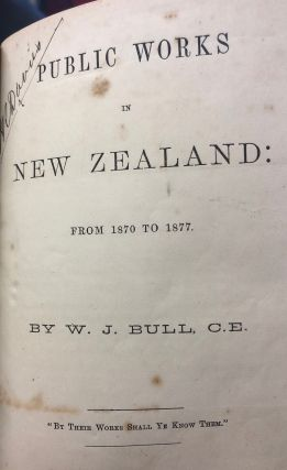 Are we to Stay Here? A Paper on the New Zealand Public Works Policy of 1870, considered specially...
