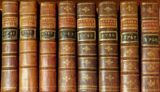 The London Magazine and Monthly Chronologer 8 volumes 1741 - 1748