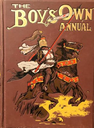 THE BOY'S OWN ANNUAL. Vol. 34. 1911-12