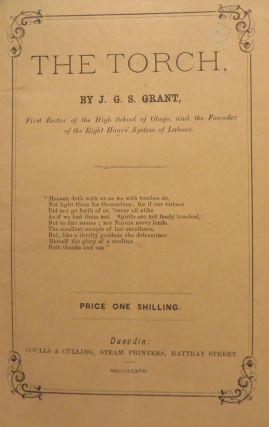 The Torch, series of articles on varied interesting subjects. J. G. S. GRANT