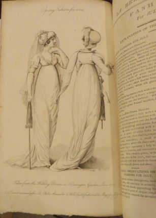La Belle Assemblee or Bell's Court and Fashionable Magazine, addressed particularly to the ladies.