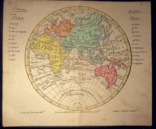 Circular Map of the World