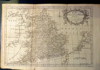 Map of England and Wales. J. LODGE