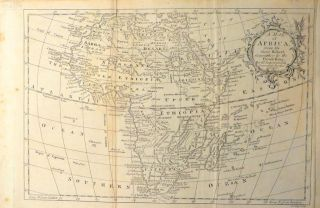 Map of Africa. J. LODGE