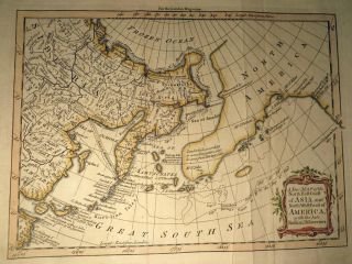 A New Map of the North East Coast of Asia and the North West Coast of America, with the late...