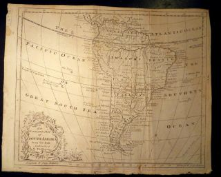 An Accurate Map of South America from the beft Authorities by Tho.s Bowen. Thomas BOWEN