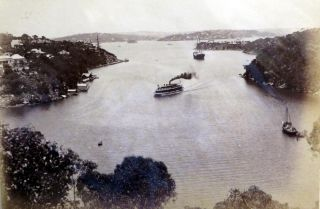 Sydney Harbour. Photograph