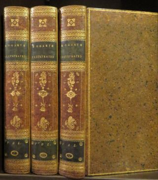 Hogarth Illustrated. 3 Vols