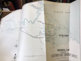 Topographical Plan of Part of Clifford Bay Survey Dist. C. W. ADAMS