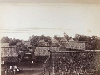 MBau from Hill [Fiji]. Photograph