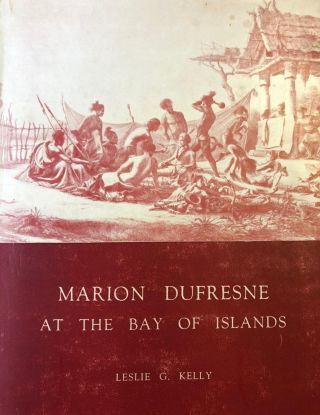 Marion Dufresne at the Bay of Islands. Leslie G. KELLY