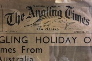 The Angling Times of New Zealand