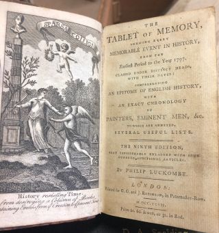 The Tablet Of Memory, Shewing Every Memorable Event In History, From The Earliest Period To The...