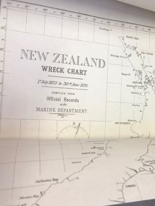 Shipwrecks. New Zealand Government documents
