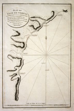 La Perouse. Plan of Baie de Ternai. Aubert