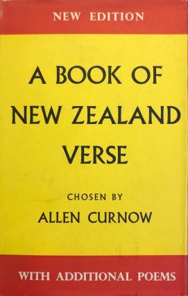 A book of New Zealand Verse. 1923-1950. A. Curnow
