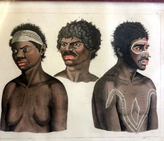 Abitatori dell Olanda Nouva. Aborigines