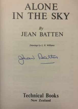 Alone in the Sky. Jean BATTEN
